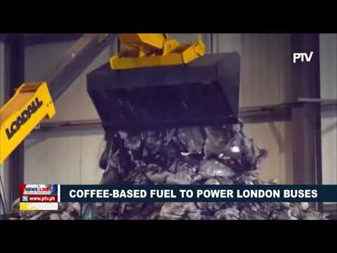 GLOBAL NEWS: Coffee-based fuel to power London buses