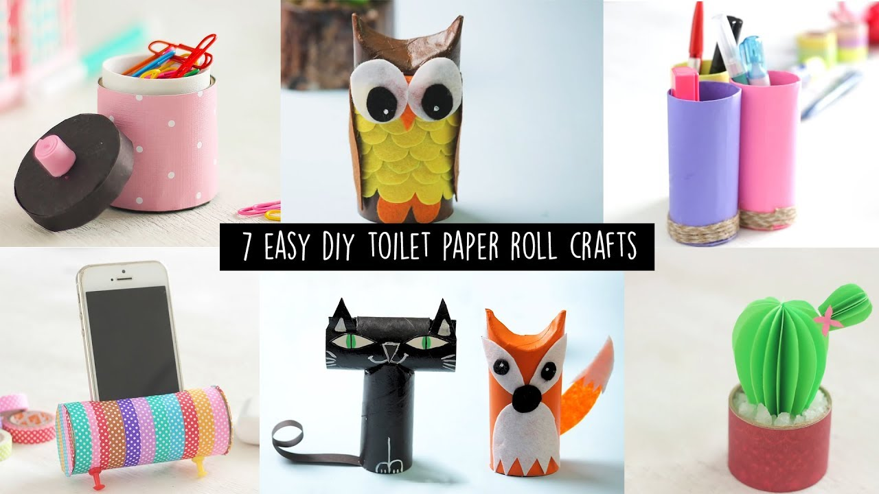 tissue roll art projects