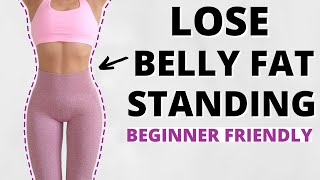 Lose weight, flat belly in 4 Weeks! Full Body Standing anhfit workout video