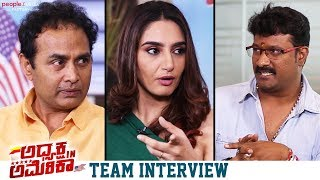 Adhyaksha In America Movie Team Interview | Sharan | Ragini Dwivedi | Hari Krishna
