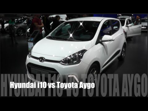 hyundai i10 2015 vs toyota aygo 2015 - youtube