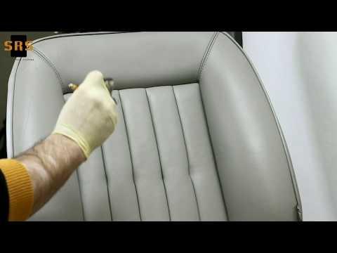 видео: Ремонт кожи и винила. Краска для салона автомобиля.