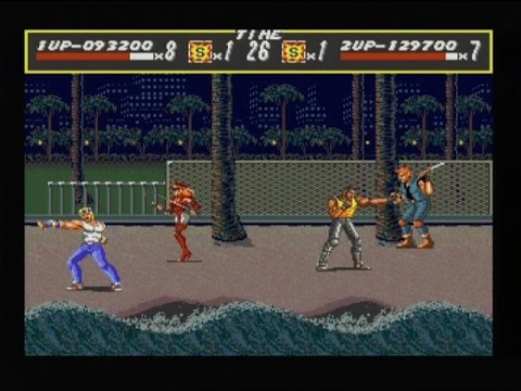 STREETS OF RAGE (MEGADRIVE - FULL GAME + BAD ENDING + SOUNDTRACK)