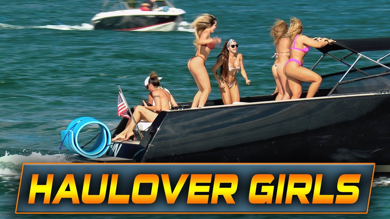 Download LADIES STEAL THE SHOW AT HAULOVER INLET!! | Boats vs Haulover Inlet