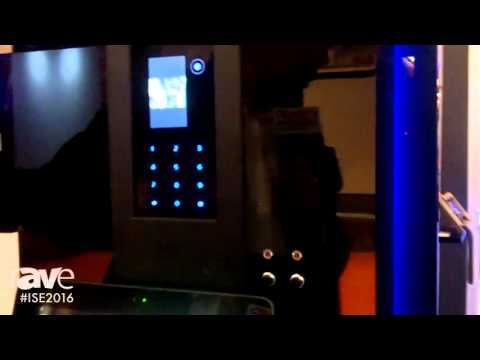 ISE 2016: Fasttel Shows rAVe Full IP Door Station for Residential and Commercial Use