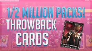 NBA 2K15 My Team - 1/2 MILLION Onyx Pack Opening, BEST Throwback Packs Ever! Xbox One