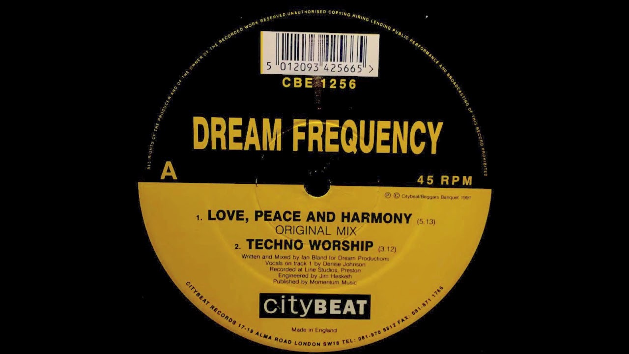 Dream Frequency - Love, Peace And Harmony (Remix) album download