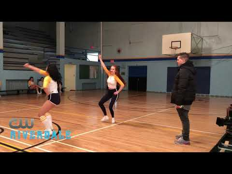 BTS pt2: Riverdale- The Cast Rehearses with Choreographer Paul Becker