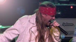 Paradise City - APPETITE FOR DESTRUCTION Live @ Ziggy