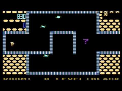 Shamus - gameplay (Atari, C64, VIC20, PC, Game Boy)