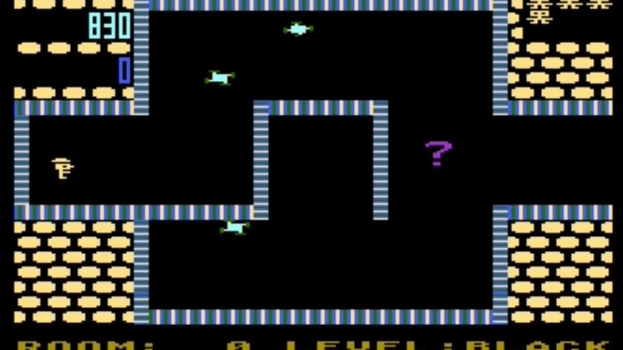 Download Shamus - gameplay (Atari, C64, VIC20, PC, Game Boy)
