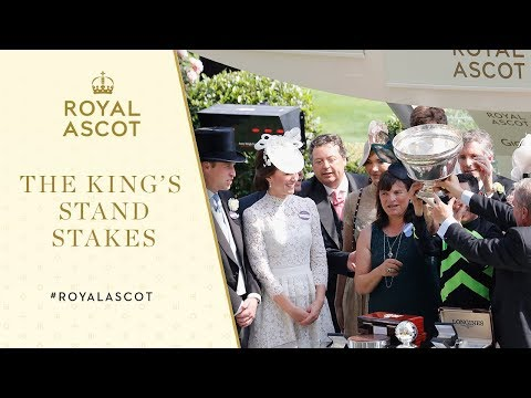 Royal Ascot 2017: The King's Stand Stakes Presentation