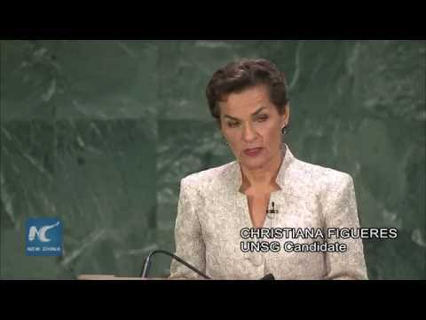 Christiana Figueres of Costa Rica highlights sexual abuse issues in UN Peacekeeping Operations