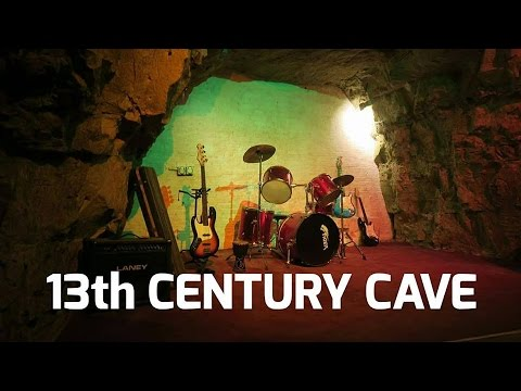 13TH CENTURY CAVE IN THE UK