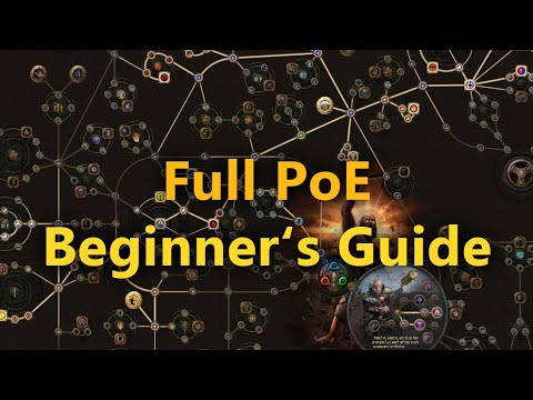 PoE Absolute Beginner's Guide (2021) - All you need to know for your First Playthrough!