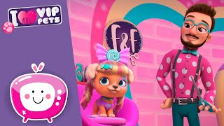 SWEET Hairdo 🍭🎀 VIP PETS 🌈 New Episode ✨ Cartoons for KIDS in ENGLISH