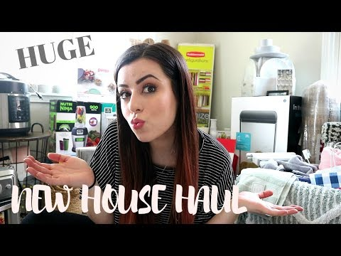 Huge New House Essentials Haul | What You Need When Moving Out