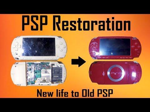 PSP Restoration , I Got It For 2$   MakerMan
