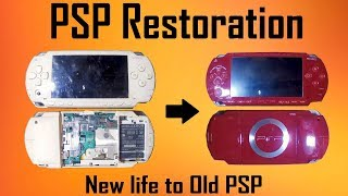 PSP Restoration , I got it for 2$ | MakerMan