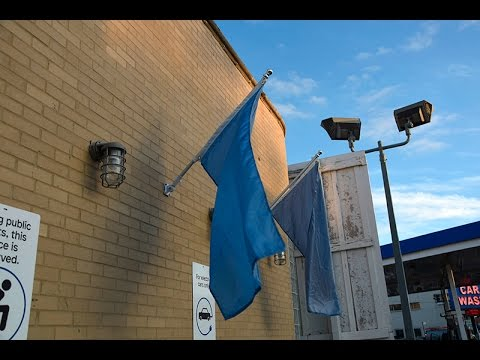 Liminal Space Chicago Flag Raising