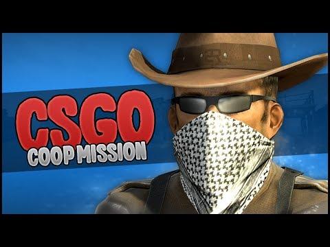 THE WILD WEST IN CS GO! (CS GO Coop Mission Western)