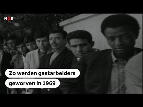 MAROKKO: Zo werden gastarbeiders geworven in 1969