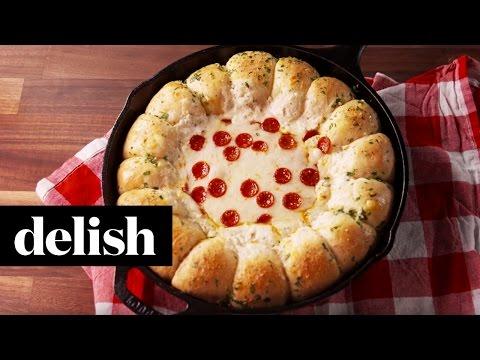 Garlic Bread Pizza Dip  Delish