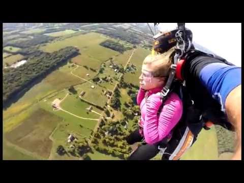 SKYDIVING- Harbor Springs, MI by Caitlin Aitchison