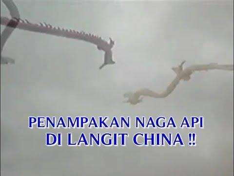 """VIDEO PENAMPAKAN """"NAGA API ASLI DI LANGIT"""" SAAT DIADAKAN KONTES LAYANG LAYANG DI CHINA !!"""