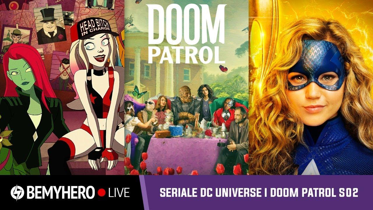 Be My Hero LIVE: rozmawiamy o serialach DC Universe przed premierą 2. sezonu Doom Patrol