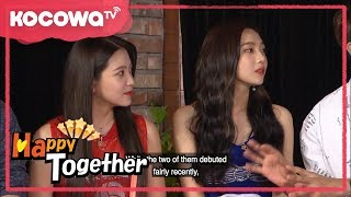 [Happy Together] Ep.512_Who was your favorite idol, Red Velvet (Eng sub)