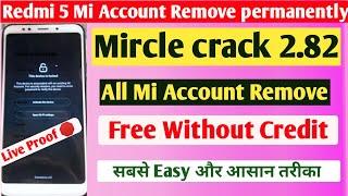redmi 5 mi account remove All …