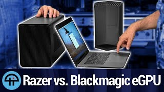 Raze Core X vs. Blackmagic eGPU on Mac Review
