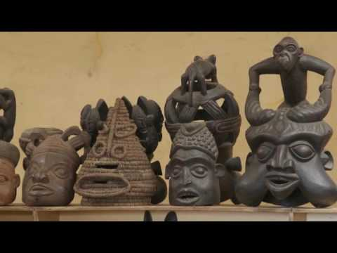 Cameroon Handicraft (My job for AFRICA 24 MEDIA)