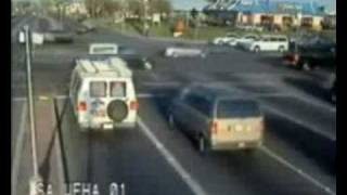 Приколы, Авто Приколы, Страшные Моменты - Пронесло :)