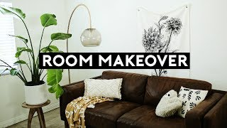 ROOM MAKEOVER!!! SMALL SPACE URBAN OUTFITTERS (2018) | NASTAZSA