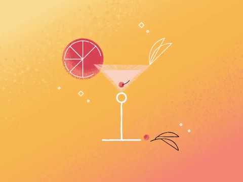 Cocktails (motion design school)