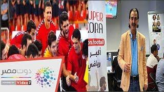 عصام شلتوت عن قائمة الشرف فى كرة اليد: فيهم مليون محمد صلاح