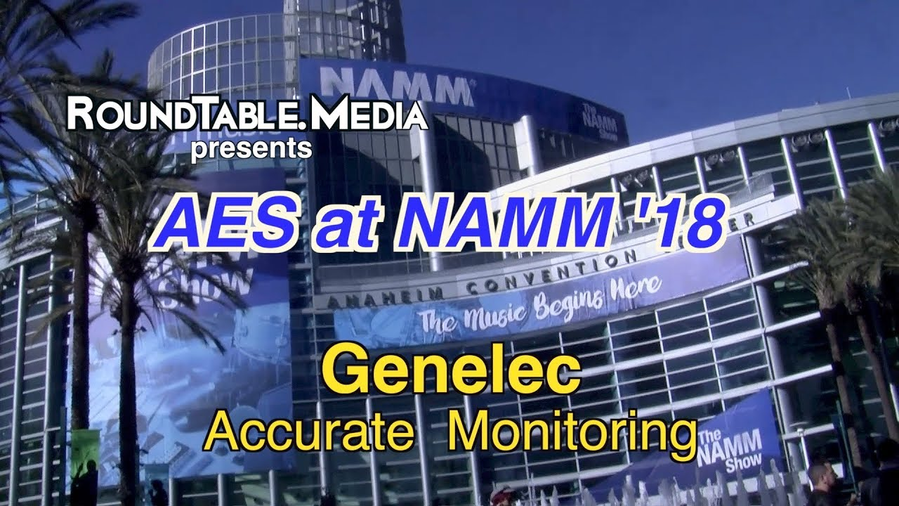 AES at NAMM '18  -  Genelec