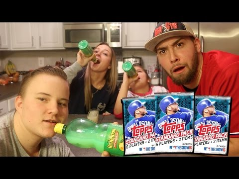 MLB 16 LEMON JUICE CHALLENGE WITH WIFEY! I HIGHLY UNDER ESTIMATED THIS!