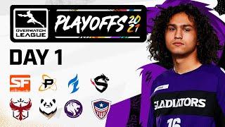 Overwatch League 2021 Season  Playoffs  Day 1