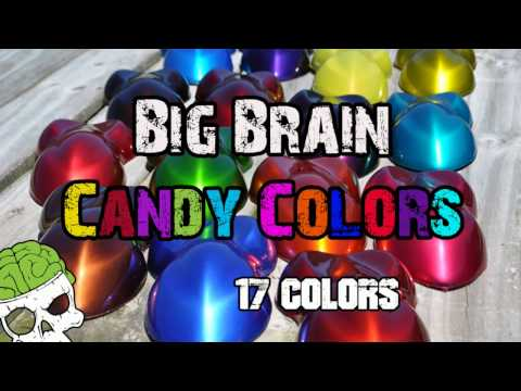 Candy Concentrate Intense Colors High Quality Big Brain Graphics Supplier Paints Clears Hydrographic