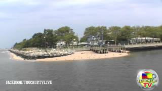 KINGSBOROUGH COMMUNITY COLLAGE WATER VIEW FROM ARMY BOYZ BOATRIDE 2012 TOUCH-UP TV