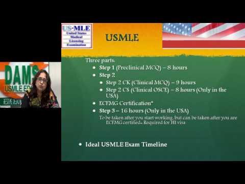 #USMLE Basics - Dr Mala Srinivasan, Head DAMS USMLE Segment