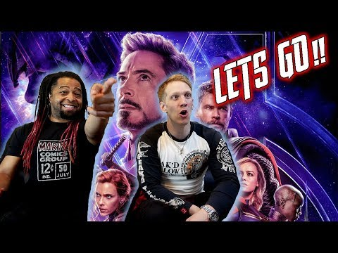Marvel Studios' Avengers: Endgame - Official Trailer Reaction & Review!!!