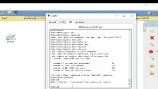 CCNP( 300-115) ,SDM Templates,MAC address learning and Error disable recovery