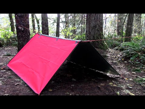 Make A Tent With Floor From A Tarp Funnydog Tv