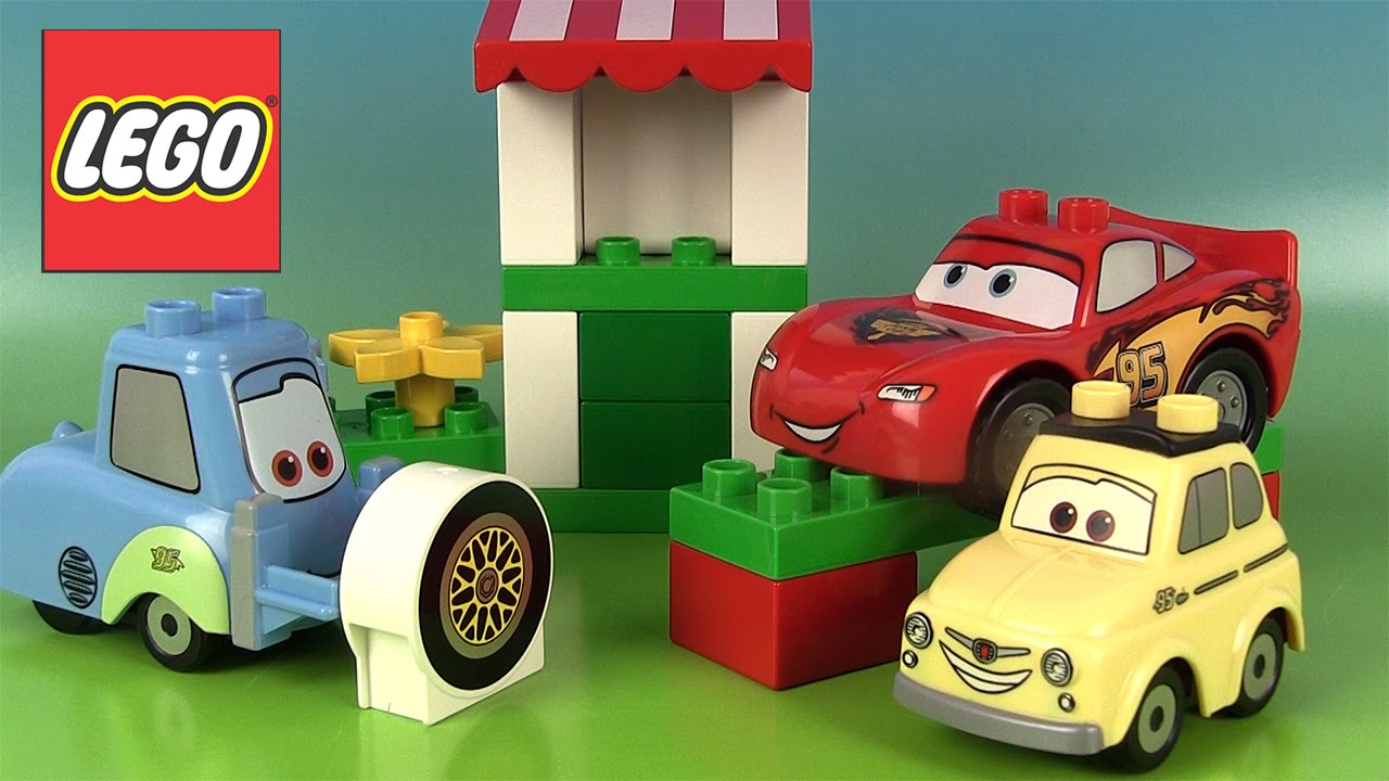 Lego Cars  Luigi