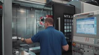 In the JRI Factory - Machining