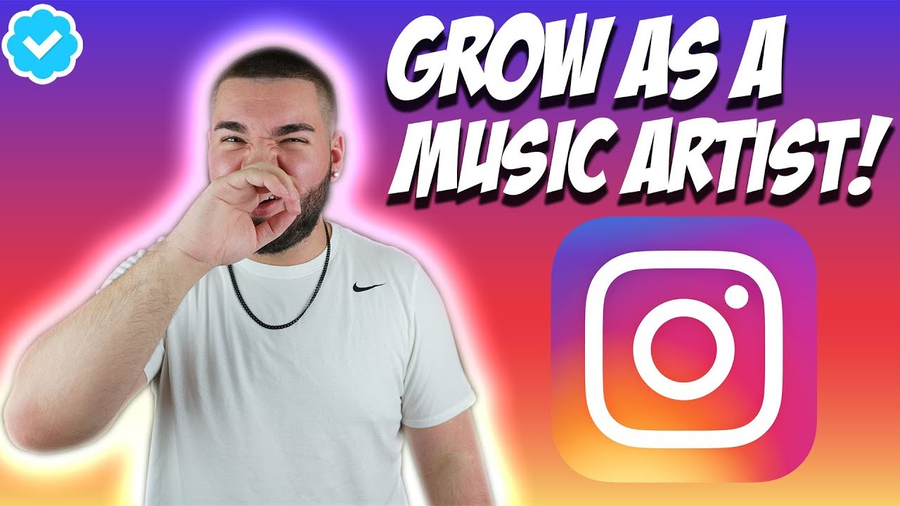 how to grow music instagram page